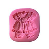 billige Bakeredskap-baby klær silikon kake mold sm-521 kake mold, bakervarer