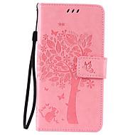 billiga Mobil cases & Skärmskydd-fodral Till LG G3 Mini LG K8 LG LG K4 LG Nexus 5X LG K10 LG K7 LG G5 LG G4 LG-fodral Korthållare Plånbok med stativ Lucka Läderplastik
