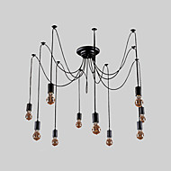 Vintage Chandelier For Living Room Bedroom Kitchen Dining Room Study Room/Office Bulb Included