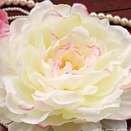 billige Kunstige blomster-1 Gren Plastikk Roser Bordblomst Kunstige blomster 17(6.6'')