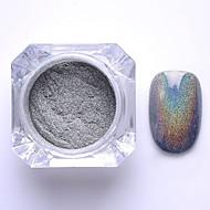 1 pcs Glitter & Poudre / Pudder glitter / Klassisk Nail Art Design Daglig