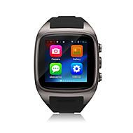 お買い得  スマートウォッチ-Podoor Micro SIMカード ブルートゥース 4.0 Android ハンドフリーコール 512MB 映像 ゲーム カメラ