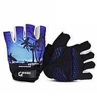 levne Cyklistické rukavice-MOKE® Akvitita a sport Cyklistické rukavice Nositelný Prodyšné Odolný proti opotřebení Anti-skluzování Vysokou prodyšnost (> 15,001 g)