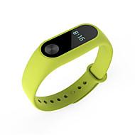 billiga Smart klocka Tillbehör-Klockarmband för Mi Band 2 Xiaomi Sportband Silikon Handledsrem