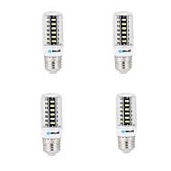 billige Kornpærer med LED-BRELONG® 4stk 4W 400lm E14 G9 GU10 E26 B22 LED-kornpærer B 42 LED perler SMD 5733 Dekorativ Varm hvit Kjølig hvit 200-240V 220-240V