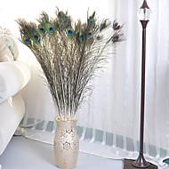 1 Ramo Poliéster Plástico Outras Flor de Chão Flores artificiais