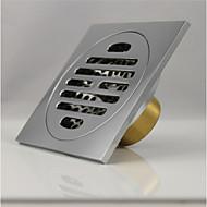 排水口金具 / 真鍮磨き コンテンポラリー