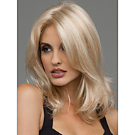 Women Synthetic Wigs Sexy Blonde Medium Length Heat Resistant Full Hair Wig
