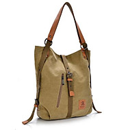 Women Bags Canvas Shoulder Bag for Casual Outdoor Khaki