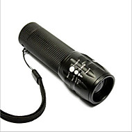 cheap Flashlights & Camping Lanterns-LED Flashlights / Torch LED - Cycling Adjustable Focus Easy Carrying AAA 50 Lumens Battery Cycling/Bike