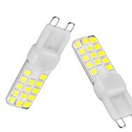 billige Bi-pin lamper med LED-G9 LED-lamper med G-sokkel T 28 LED SMD 2835 Mulighet for demping Vanntett Dekorativ Varm hvit Kjølig hvit Naturlig hvit 350-450lm