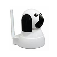 1.0 MP PTZ Innendørs with Dag Natt IR-kutt 64(Dag Nat Bevegelsessensor Dobbeltstrømspumpe Fjernadgang IR-klip Wi-Fi Beskyttet Setup Plug
