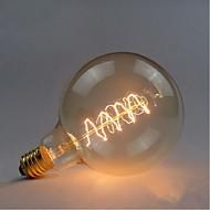 G125 fio em torno de 60w bulbo edison lâmpadas bar perola lâmpada de tungstênio edison lâmpada decoração retro