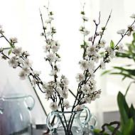 1 şube Polyester Sakura Masaüstü Çiçeği Yapay Çiçekler