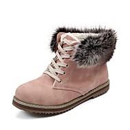 Dames Hoge hakken Lente Herfst Winter Cowboy/Westernlaarzen Snowboots Paardrijlaarzen Modieuze laarzen Synthetisch Lakleer Kunstleer