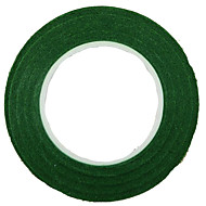 DIY krans 1.2cm bred grønn krans håndlaget papir tape 30y
