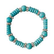 Dames Strand Armbanden Modieus Legering Cirkelvorm Groen Sieraden Voor Bruiloft 1 stuks