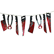 1 set griezelige Halloween party spookhuis opknoping guirlande wimpel banner decoratie