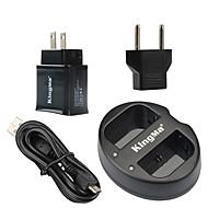 Kingma încărcător dublu USB pentru Canon baterie lp-e6 și canon eos 5D2 5d3 70d 6d 7d 7d2 60d cu putere USB adaptor de priză
