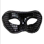 baratos -1pc máscara ms mascarada para o dia das bruxas traje do partido cor aleatória