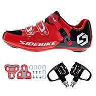 BOODUN® Biciklističke cipele s pedalom i kopčom Obuća za cestovni bicikl Tenisice za biciklizam Sneakers Uniseks Cushioning Ultra Light
