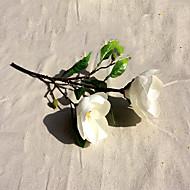 1 1 Branch Polyester Orkideer Bordblomst Kunstige blomster 42CM