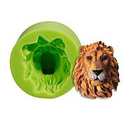 ieftine Forme de Tort-Lion cap silicon mucegai tort decorare coacere sugarcraft instrumente polimer lut fimo fondant face culoare aleatoriu