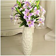 1 1 Branch Polyester / Plastikk Liljer / Peoner Gulvblomst Kunstige blomster 31.101inch/79cm