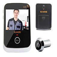 kivos kdb307 husholdning visuell intelligent elektronisk anti-tyveri dør øye kamera overvåkning