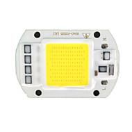 zdm ™ diy 50w 500lm 6000-6500k luz branca fria placa integrada de alta pressão Módulo de LED (AC220V)
