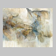 El-Boyalı Soyut Yatay,Modern Tek Panelli Kanvas Hang-Boyalı Yağlıboya Resim For Ev dekorasyonu