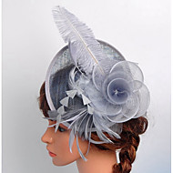 Lace Organza Satin Net Fascinators Birdcage Veils 1 Wedding Special Occasion Outdoor Headpiece