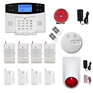 433MHz SMS טלפון 433MHz GSM TELEPHONE אזעקת טלפון התראת SMS צליל אזעקה שעון מעורר מקומי E-mail Alarm מערכות אזעקה הבית