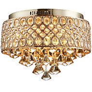 cheap Lighting Sale-Rustic/Lodge Drum Lantern Country Traditional/Classic Retro Modern/Contemporary Crystal Designers Flush Mount Ambient Light For Living