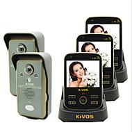 kivos kdb302a無線ビデオドアベルドアのベル2ドラッグ3つのリモート監視カメラロック