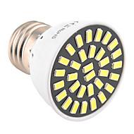 billige Spotlys med LED-YWXLIGHT® 7W 500-700lm E26 / E27 LED-spotpærer T 32 LED perler SMD 5733 Dekorativ Varm hvit Kjølig hvit 110-130V 220-240V