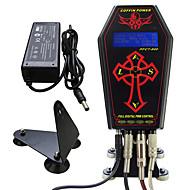 Tatuagem profissional fonte de energia relógio de caixão para kit de máquina de tatuagem