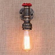 AC 220V-240V 40W E27 BG805 Nostalgia Simple Water Pipe Decorative Small Wall Lamp Wall Light