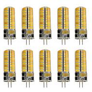 tanie Więcej Kupujesz, Więcej Oszczędzasz-10pcs 260 lm G4 Żarówki LED bi-pin T 72 Diody lED SMD 2835 Dekoracyjna Ciepła biel Zimna biel AC 12V AC 220-240V