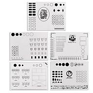 1 Nail Art kitek Nail Art Manikűr Tool Kit smink Kozmetika Nail Art DIY