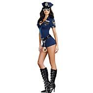 Policajci Karijera kostime Cosplay Nošnje Kostim za party Muškarci Žene Halloween Karneval Festival / Praznik Halloween kostime Plava