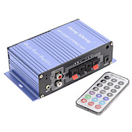 amplificadorポータブルハイファイステレオ出力カードパワーアンプUSB / SDカードプレーヤー