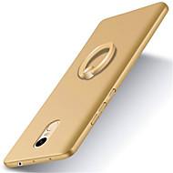 billiga Mobil cases & Skärmskydd-fodral Till Xiaomi Mi-fodral med stativ / Ringhållare / Frostat Skal Enfärgad Hårt PC för Xiaomi Redmi Note 4 / Xiaomi Redmi 4X / Xiaomi Mi 6 / Xiaomi Mi 5s