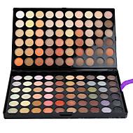 billiga Ögonskuggor-120 färger Ögonskuggor / Kaki / Sminkborstar Öga Naturlig Färgat glans Vardagsmakeup Smink Kosmetisk / Matt / Skimmrig