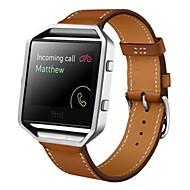 billiga Smart klocka Tillbehör-Klockarmband för Fitbit Blaze Fitbit Sportband Läder Handledsrem