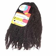 abordables -Pré-boucle Tresses crochet Tresse Natté Tresses au Crochet 45cm Cheveux 100 % Kanekalon Marron foncé Rajouts de Tresses Extensions de