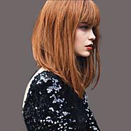 elegantan modni ravne ljudskih perika kosa za žene