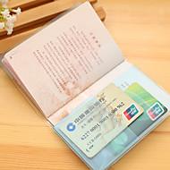 Paspoorthouder & ID-houder Waterdicht Stofbestendig Draagbaar voor Opbergproducten voor op reisOranje Paars Geel Blauw Roze