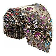 Muškarci Paisley uzorak Vintage Slatko Zabava Posao Ležerne prilike Umjetna svila - Kravata