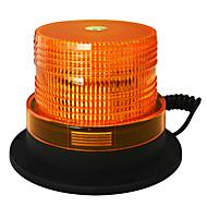 ストロボ光を誘致するjiawen 5インチの磁石は、黄色のLEDフラッシュ警告ライト非常灯のDC 12V防水